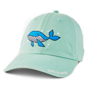 Life Is Good. Kid's Chill Cap Wahle Hello There, Spearmint Green
