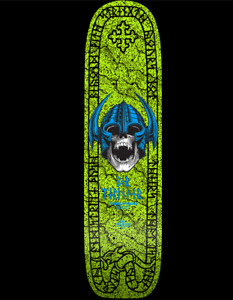 "Powell Peralta OG Per Welinder Freestyle Deck Lime Green - 7.25"" x 27"" REISSUE"