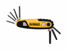 DeWalt  Multi-Size  Metric and SAE  Fold-Up  Hex Key Set  6.7 in. 8 pc.