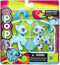 Hasbro My Little Pony Pop Starter Kit Rainbow Dash Personaggio Personalizzabile