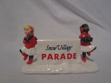 Dept 56 Snow Village Accessories Come Join the Parade