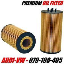 AUDI / VOLKSWAGEN Engine Oil Filter OE# 079-198-405 V8 4.2L Engine