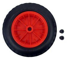 """Rojo PU 16"""" prueba de pinchazos Carretilla Neumático de 16 mm de diámetro 4.80 - 8 Rueda De Carretilla"""