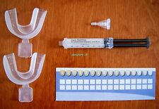 NITE WHITE ACP 16% - WHITENING GEL - 1 SYRINGE + MOUTH TEETH TRAYS + SHADE CARD