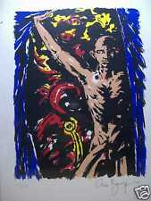 Clive Barker:  Door At Edge of World Print (signed & numbered) (USA)