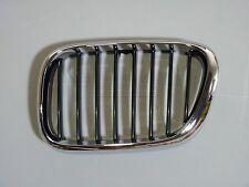 BMW E53 X5 Aftermarket Front Kidney Grille Grill Chrome Black Driver Left
