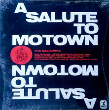 THE BELIEVERS - A SALUTE TO MOTOWN - AMOS LP - STILL SEALED