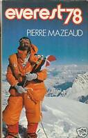 Livre Everest 78 Pierre Mazeaud book