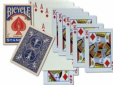 Bicycle One Way Force Deck BLUE Back Gaff Magic Trick Choose any Card available