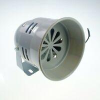 220VAC 130dB 40W  Gray  Mini Plastic Industrial Alarm Sound Motor Siren