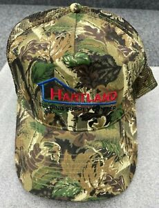 Camo Hartland Building Supply Hat Camouflage Snapback Otto Camouflage Adult Cap