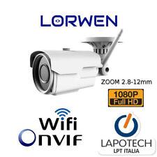 Lorwen IP Camera ONVIF LIV60S200W Telecamera WiFi h265 1080p 300 metri Varizoom