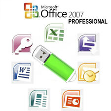 Microsoft Office 2007 Professional Full Version on Usb Flash Drive 10 Computers