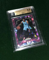 🔮🍀📸 ROOKIE OF THE YEAR 🏆 JA MORANT PINK ICE RC BGS 9.5 GEM MINT 10 CENTERING