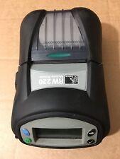 """Zebra RW220 termal recibo etiqueta con códigos de barras R2A-0UKA000E-00 WLAN Wifi 2"""" Impresora"""