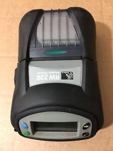 """Zebra RW220 R2A-0UKA000E-00 Thermal Receipt Barcode Label WLAN WiFi 2"""" Printer"""