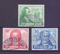 Berlin 1949 - Goethe - MiNr. 61/63 rund gestempelt - Michel 180,00 € (506)