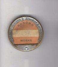 Vintage pin American RADIATOR & Standard SANITATION Corp. badge KOKOMO Works