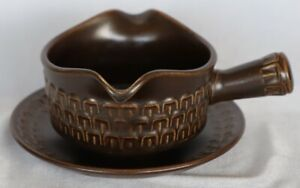 Retro Vintage Wedgwood Pennine Gravy Boat & Underplate Oven to Plate