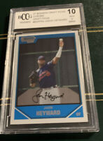 2007 bowman draft picks chrome draft picks #bdpp54 J. HEYWARD rookie BGS BCCG 10