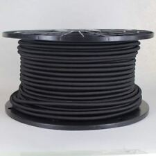 BLACK ~ 18/3 SVT Wire Rayon Covered Cord ~ ROUND Pendant Lamp Wire ~ UL Listed