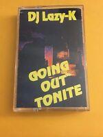 DJ LAZY K Going Out Tonight Pt. 1 90s Cassette Hip Hop Mixtape NYC