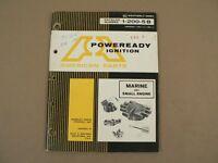 Poweready Ignition American Parts Company Marine & Small Engine 1-200-5B Catalog