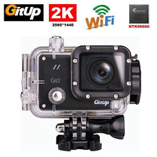 Gitup Git2 Pro 16MP Sony IMX206 Sensor 2K WiFi Car Action Camera Mini Camcorder