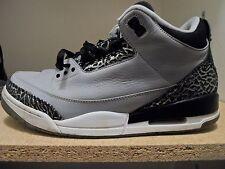 Nike Air Jordan Retro 3 III Wolfe Grey/Black Men's Size 11.5