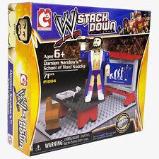 C3 Construction WWE Stack Down Dane Sandow School of Hard Knocks Set NIB 71 Pcs