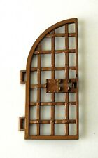 "Playmobil Small Curved ""Copper"" Gate for Roman Arena 4270 5837 6548"