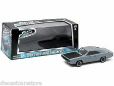 DOM'S FAST AND FURIOUS (2009) 1970 DODGE CHARGER R/T GREY 1:43 GREENLIGHT 86217