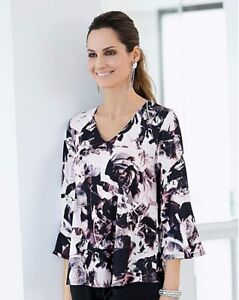 BNWT  TOGETHER FLORAL PRINT BLOUSE Floaty Sleeves/ UK 20 / RRP £45