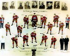 MONTREAL CANADIENS 1930-31 8X10 PHOTO HOCKEY NHL PICTURE STANLEY CUP CHAMPS