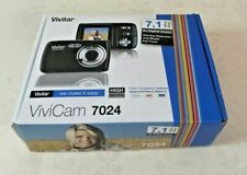Vivitar ViviCam 7024 7.1MP Digital Camera - Black (V7024)