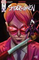 Spider-Gwen #28 Marvel Comics 2016 ROBBI GWENOM COVER A