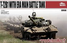 1/72 Modern Vehicle: T-72B1 Main Battle Tank w/ERA [Russia] : MODELCOLLECT