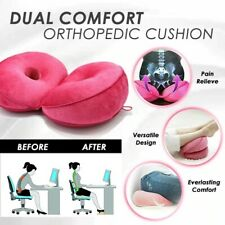 New Dual Comfort Orthopedic Cushion Pelvis Pillow Lift Hips Up Seat Cushion Soft