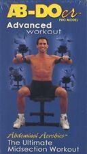 Ab-Doer Pro Model Advanced Workout Abdominal Aerobics VHS home fitness shape NEW
