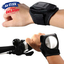 Wrist Cycling Eye Bicycle Rear View Mirror Bike Guards Wristbands Back New