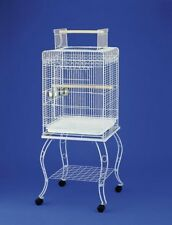 MWP Bird Cage with Display Stand 51 x 51 x 142cm high Small Parrots and Parakeet