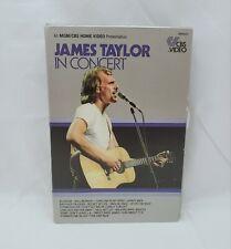 James Taylor in Concert Betamax Tape
