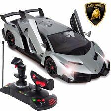 1-14 Scale RC Lamborghini Veneno Realistic Driving Car Toy Gravity Sensor Model