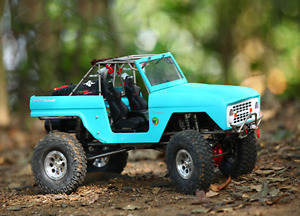 TFL RC 1/10 4WD SCX10 Bronco Rock Crawler Painted Shell ESC Motor Metal Chassis