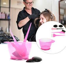 5Pcs Salon Hair Coloring Dyeing Kit Color Dye Brush Comb Mixing Bowl Tint Tool
