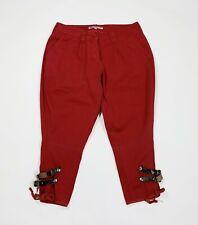 Shorts Donna Bermuda a Righe Pantalone Corto Casual con Elastico GIROGAMA 3992IT