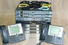 Cisco CCNA CCNP Recommended Voice Sec Lab 2801 2811 3750 L3 ASA5510 Guiding DVD