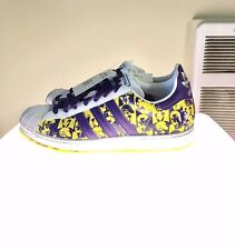 NEW! NIB! NWT! ADIDAS WARHOL LAKERS EXPRESSION SERIES LIMITED EDITION SIZE 9