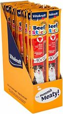 Vitakraft BeefStick BEEF Meat Sticks Dog Puppy Treats Sugar Free 12g 50 PACK