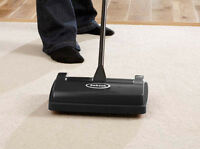 Ewbank Lightweight Handy Manual Speed Sweep Carpet Sweeper Cleaner - Black